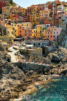I was HERE!  Can't imagine living here--loved the people. Manarolo, on the Cinque Terre coast, Italy