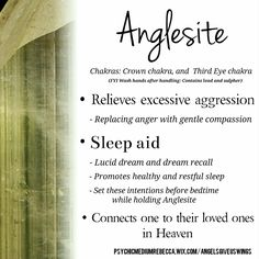 Anglesite crystal meaning                                                                                                                                                                                 More