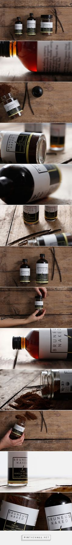 Bruneus Naked Vanilla - Packaging of the World - Creative Package Design Gallery - http://www.packagingoftheworld.com/2016/11/bruneus-naked-vanilla.html