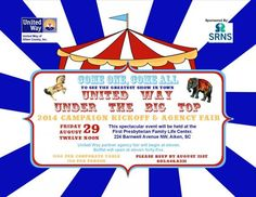 United Way Under the Big Top | United Way of Aiken County