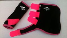 Professional's Choice SMB Elite Boots Black w Pink Trim Pro Choice Horse Wraps | eBay