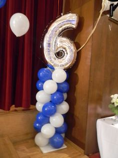 Sweet 16 balloon décor 845-538-2618