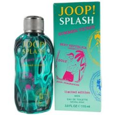 Joop Splash Summer Ticket Eau De Toilette Spray for Men, Fluid Ounce => Awesome product. Click the image : Body Care Joop Perfume, Ticket, Summer Scent, Bottle Design, Beauty Shop, Smell Good, Male Beauty, The Ordinary, Body Care