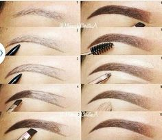 Perfect Eyebrows Made Easy With Semi Permanent Make Up Eyebrow Makeup Tips, Skin Makeup, Beauty Makeup, Makeup Eyebrows, Drawing Eyebrows, Shape Eyebrows, Hd Brows, Makeup 101, Eyebrow Pencil