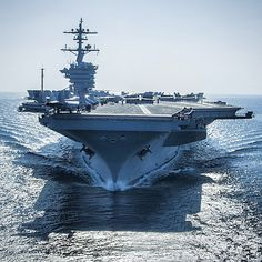 The Nimitz-class aircraft carrier USS Carl Vinson preparing for flight operations while in the Arabian Gulf. Carl Vinson is deployed in the U.S. 5th Fleet area of responsibility supporting Operation Inherent Resolve, strike operations in Iraq and Syria as directed, maritime security operations, and theater security cooperation efforts in the region. #AmericasNavy #USNavy #Navy navy.com
