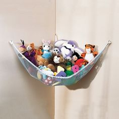 Toy Net Hammock for Stuffed Animals in Fall Preview 2012 from One Step Ahead  on shop.CatalogSpree.com, my personal digital mall.