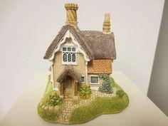 1991 Lilliput Lane England Sculpture Figurine John Barleycorn Cott Deeds Orgbox | eBay
