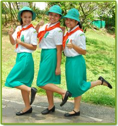 Filipino Cadet Girl Scouts #Thinking Day
