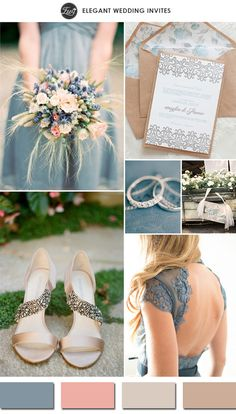 Wedding Ideas: 5 Trending Nude Wedding Color Ideas for Your Big D...