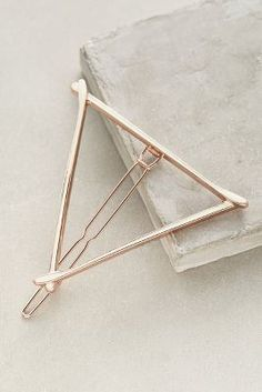 Anthropologie Triangle Hair Clip #anthrofave