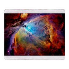 Colorful Nebula NASA Photos Stadium Blanket