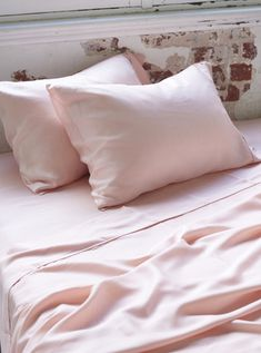 Home + Bedroom Decor // ideas // Bamboo Daydream Pillow Case Set - Cloud Pink