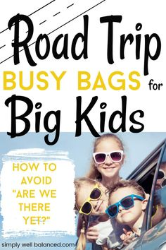 Road Trip Suprise Bags for Kids - If you are planning a long car ride with kids you need to have lots of activities on hand. Even big - Road Trip With Kids, Family Road Trips, Travel With Kids, Family Travel, Family Vacations, Car Ride Activities, Travel Activities, Family Activities, Summer Activities