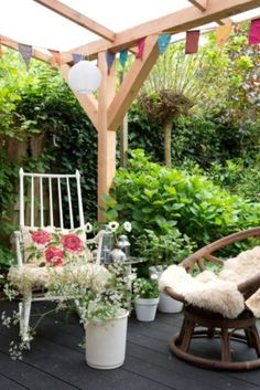 """This cosy veranda is from our feature """"Quirky Talents"""""""