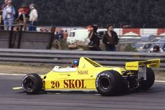 Emerson Fittipaldi (BRA) (Skol Fittipaldi Team), Fittipaldi F7 - Ford Cosworth V8 Zolder, 1980. © S. Le Bozec