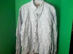 THE TERRITORY AHEAD Men's Size L Shirt #THETERRITORYAHEAD #ButtonFront