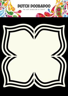 470.713.118 Dutch Doobadoo Shape Art Flower 4 Petals