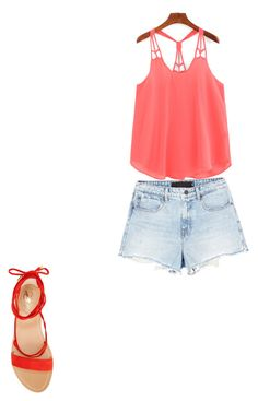 """Ropa de verano"" by magdamily on Polyvore featuring Alexander Wang y Vince Camuto"