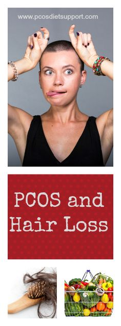 PCOS and Hair Loss is a difficult combination to manage and can be incredibly distressing. Find out more at www.pcosdietsupport.com