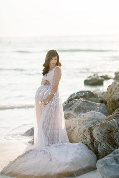 Beach Maternity Photos, Maternity Gowns, Maternity Session, Pregnancy Photos, Beach Portraits, Maternity Portraits, Maternity Photographer, Pregnant Couple, Baby Bumps