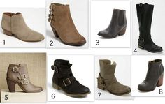Fall Boot favorites:  Copenhaven