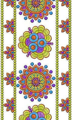 Vintage Hand Embroidery Lace Design