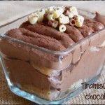 Tiramisú de Chocolate
