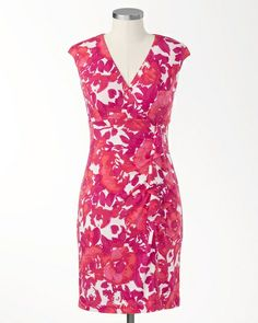 Hothouse Draped Dress  Coldwater Creek  119.95, Now 69.99 + 50% off