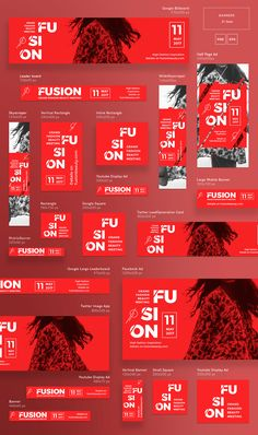 Fusion   Modern and Creative Templates Suite on Behance