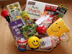 Geschenkkorb Geschenke Firma Büro Arbeitskollegin Überraschung Kollegin lustig