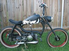 keren aja :D Plane Engine, Custom Moped, Small Motorcycles, Motorized Bicycle, Pit Bike, Motorcycle Art, The Hobbit, Planes, Honda