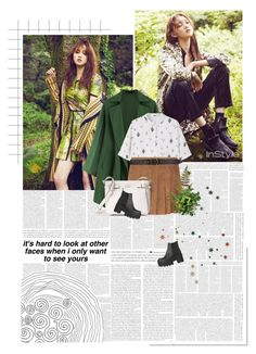 """""""SELECTION//208"""" by kareeenn ❤ liked on Polyvore featuring MANGO, Billabong and Kate Spade"""