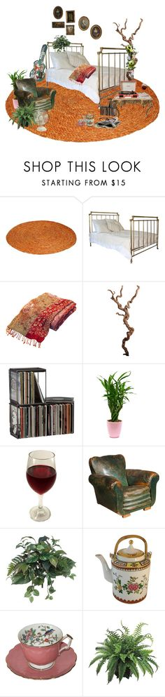 """""""positive vibes #197"""" by sharkmilk ❤ liked on Polyvore featuring interior, interiors, interior design, home, home decor, interior decorating, CB2, Crosley, Carlton and Giannetti Home"""