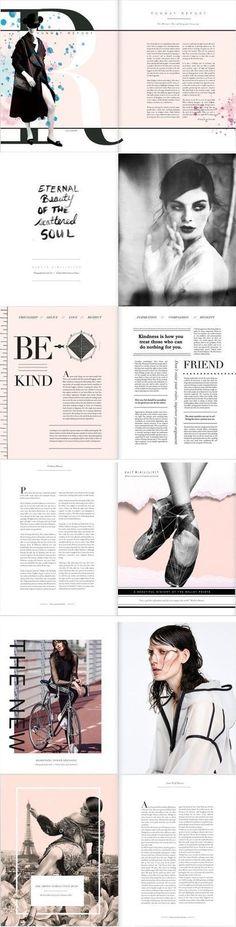 Designspiration #layout #simple