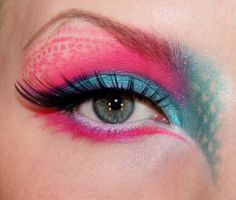 Playing with colour http://www.makeupbee.com/look_Playing-with-colour_35688