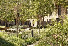 St Andrews, Bromley-by-Bow, London, UK by Townshend Landscape Architects