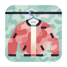 Aron Vellekoop León   Illustration - Wall Street Journal - Military outerwear