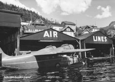 Grumman Goose plane docked in Ketchikan, Alaska (were I was born). I was three weeks old the first time I flew in one (to get home from hospital).