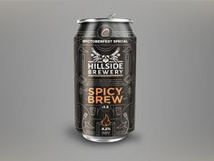 Working on a beer label for a campaign we ran inviting our users to help craft a beer flavor and name for @Spiceworks user conference. These are going to come from Hillside Brewery in London. They ...