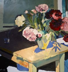 huariqueje:  Still Life with Peonies -  Jean Paul...