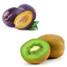 Centrifugati Depurativi | sveglia per l'Intestino Pigro: 3 kiwi e 1 prugna o 50g di prugne secche