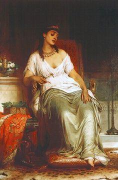 Frank Dicksee (English, 1853-1928). Cleopatra