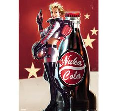 Fallout 4 XXL- Poster Nuka Cola. Hier bei www.closeup.de