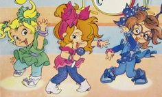 The Chipettes -Eleanor, Brittany, & Jeanette