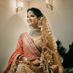 Unique Bridal Lehenga Colour Combinations Which Will Be Big In 2019! | WedMeGood