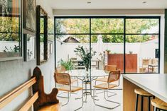 5 Ways Bauhaus Design is Still Shaping Your Home Home Interior Design, Interior Styling, Interior Architecture, Architects Melbourne, Richmond Homes, Georgia, White Subway Tiles, Melbourne House, Restaurant Chairs