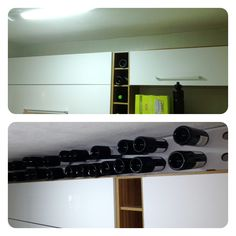 missing space over the kitchen cabinet !!! How about my wine adega ?!