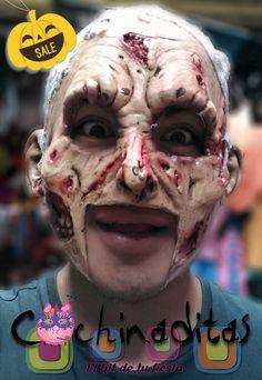 ¿Aún no estás listo? ¡Corre, ya quedan pocos modelos de máscaras! #HalloweenEnCochinaditas