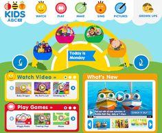Sonrisas de mil colores: PEQUES, A DIVERTIRSE CON LA WEB DE ABC KIDS