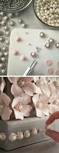 Elegant flower idea
